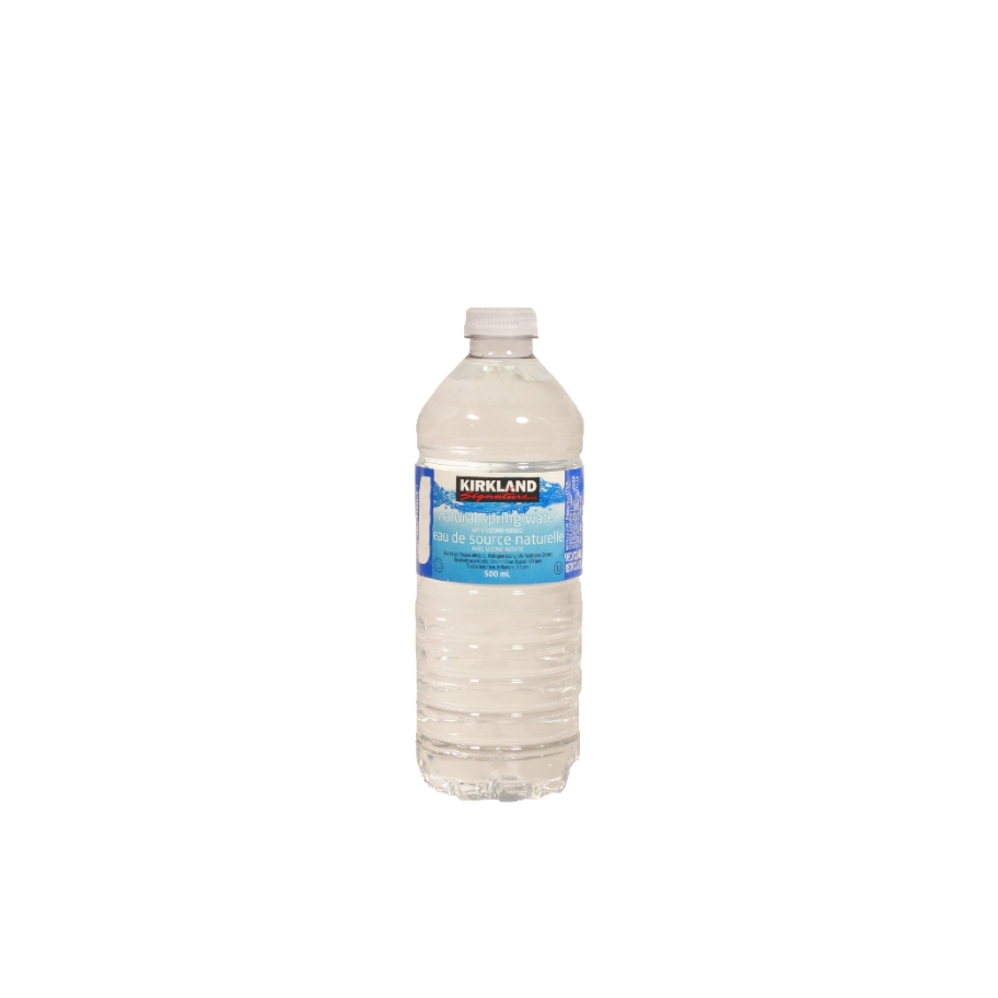 Kirkland Natural spring water 500ml