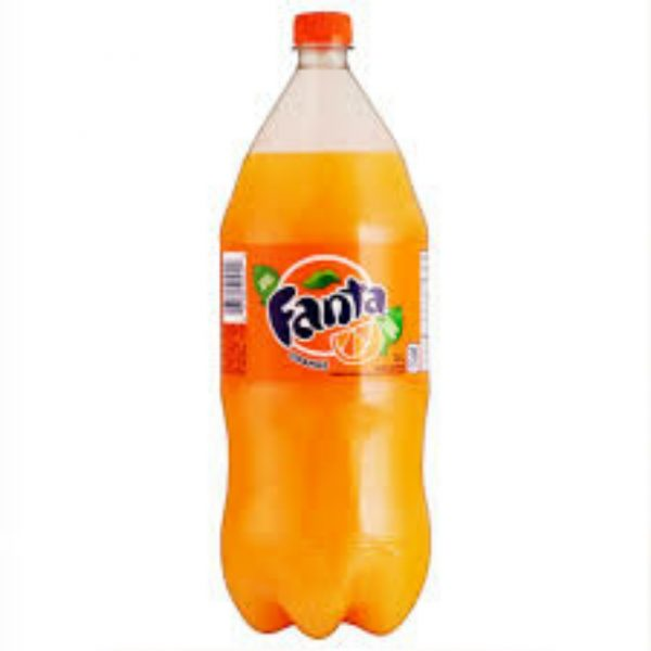 Fanta Orange Soda 2.00 liter