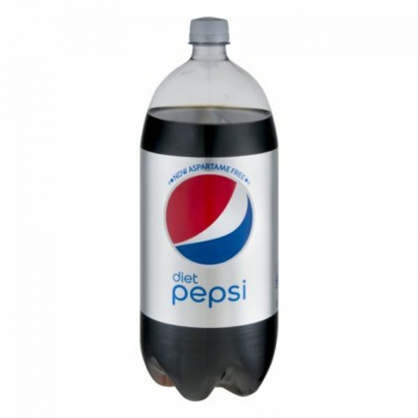 Diet Pepsi Cola 2 Liter Bottle