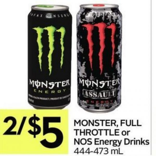 2 For 5 Monster Energy Drink